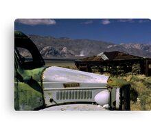 Charlie's Truck Canvas Print