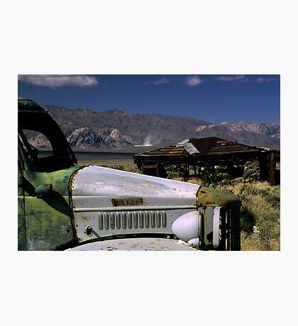 Charlie's Truck Photographic Print