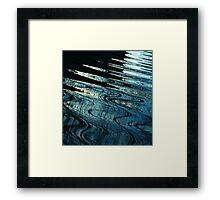 Midnight oil Framed Print