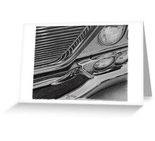 1964 Chrysler New Yorker grille Greeting Card