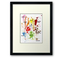 The clumsy gourmet #2 Framed Print