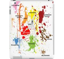 The clumsy gourmet #2 iPad Case/Skin