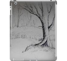 THE DAY RECEDES - a forest meander iPad Case/Skin