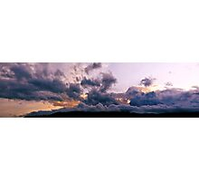 Rolling Clouds in Southwest Sky Photographic Print
