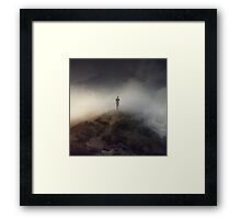 Lost in Misery Framed Print