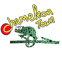 Chameleon Town Photographic Print