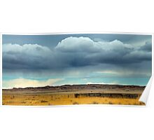 Rain Over The Prarie Poster