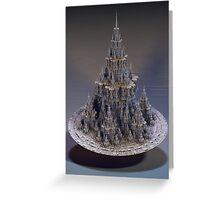 Sierpinski Castle Greeting Card