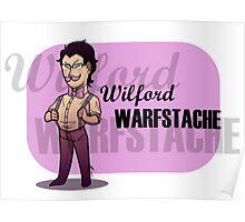 Wilford Warfstache chibi Poster
