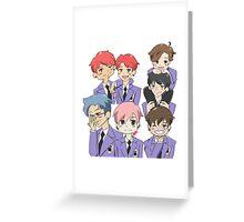 BTS x Ouran Highschool Host Club Greeting Card