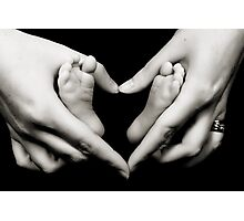 Baby Love Photographic Print