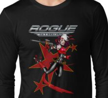 2011 Derby Rogue Streak W Logo RED STAR EDITION Long Sleeve T-Shirt