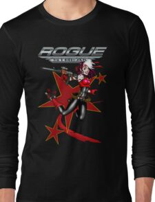 2011 Derby Rogue Streak W Logo RED STAR EDITION Long Sleeve T-Shirt