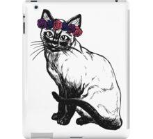 Flower Crown Cat iPad Case/Skin