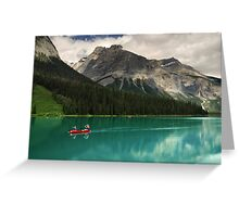 Emerald Lake, Yoho NP, Canada Greeting Card