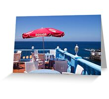 Dorada Greeting Card