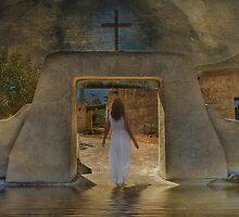She Walks With Him by Michael  Gunterman
