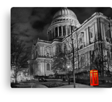 A Touch Of Red - HDR Canvas Print
