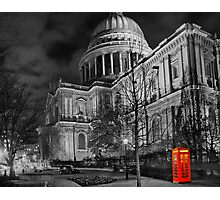 A Touch Of Red - HDR Photographic Print