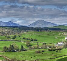 The View From Colton Church by Jamie  Green