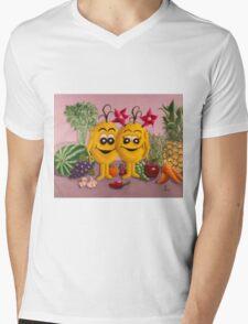 Soul Angels - Organic Love Mens V-Neck T-Shirt