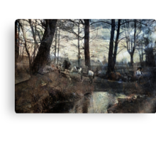 A Short Break Canvas Print