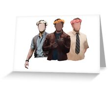chris pratt flower crown Greeting Card