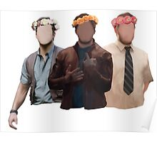 chris pratt flower crown Poster