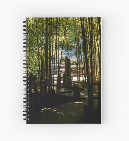 Through The Bamboo Spiral Notebook