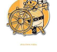 First Mate Greeting Card by Jane Connory