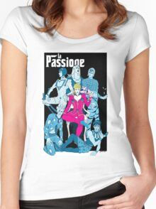 La Passione Women's Fitted Scoop T-Shirt