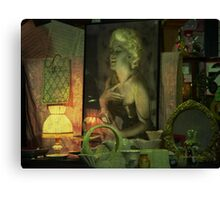 The goodtime girl - Lost in the past Canvas Print