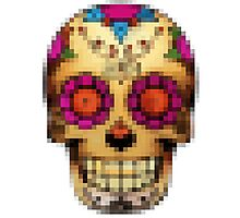 day of the dead - pixel edition Photographic Print