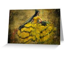 The dancer - Lost in the past Greeting Card