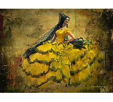 The dancer - Lost in the past Photographic Print