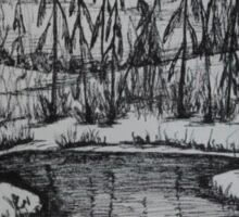 STREAM SPIRIT - meandering brook Sticker