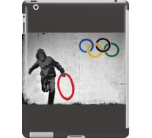 Olympic Rings Banksy iPad Case/Skin