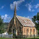 St Paul's Presbyterian Church, Hill End, NSW  by Adrian Paul