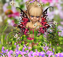 Cherry Blossom Fairy by Moonlake