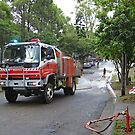 Brisbane Floods 2011 - Clean Up - Rural Fire Services by Neil Ross