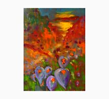 Lilies in the field (oil on stretched canvas 45 x 60 cm) Unisex T-Shirt