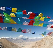 Holy Flags by upadhyay