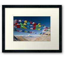 Holy Flags Framed Print