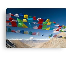 Holy Flags Canvas Print