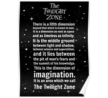 The Twilight Zone Intro Poster