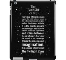 The Twilight Zone Intro iPad Case/Skin