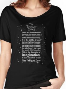 The Twilight Zone Intro Women's Relaxed Fit T-Shirt