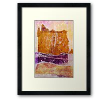 thicker than water Framed Print