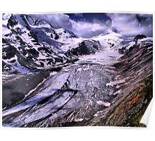 Austria, Majestic Glacier, Großglockner Poster