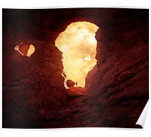 Turret Arch at sunset 2 Poster